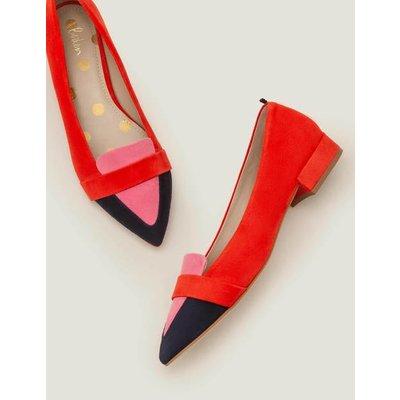 Scarlett Low Heels Red Women Boden, Multicouloured