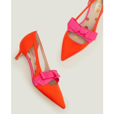 Mollie Kitten Heels Orange Women Boden, Orange