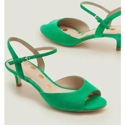 Auria Kitten Heels Green Women Boden, Green