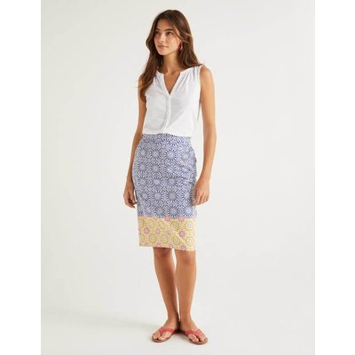 Gabriella Pencil Skirt Blue Women Boden, Blue