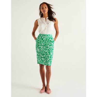 Gabriella Pencil Skirt Green Women Boden, Green
