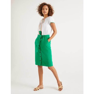 Summerson Pencil Skirt Green Women Boden, Green
