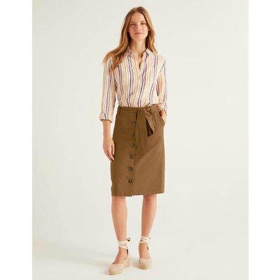 Summerson Pencil Skirt Brown Women Boden, Brown