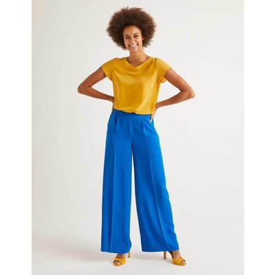 Gresham Trousers Blue Women Boden, Blue