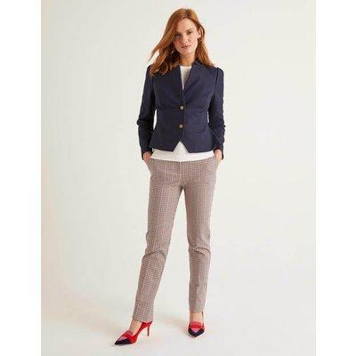 Woodville Textured Jacket Navy Women Boden, Navy