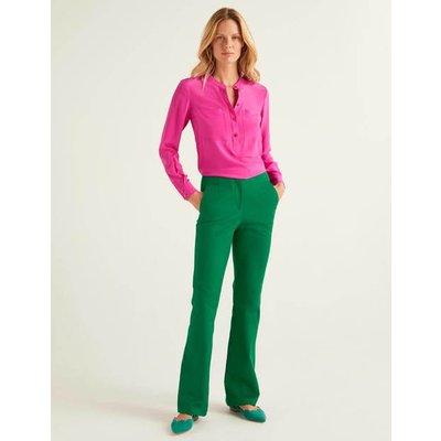 Westmoreland Bootcut Trousers Green Women Boden, Green