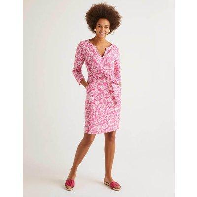 Kelsey Linen Tunic Pink Women Boden, Pink