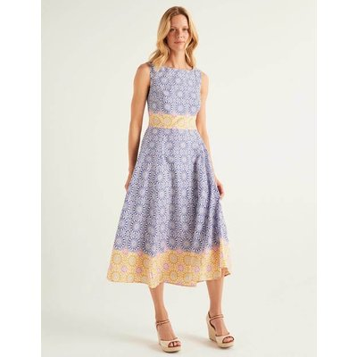 Deborah Dress Blue Women Boden, Blue