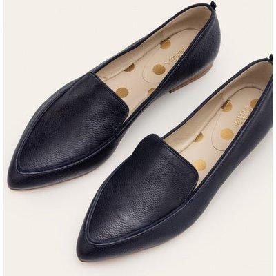 Emma Flexi Sole Shoes Navy Women Boden, Navy