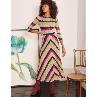 Helen Sparkle Dress Multi Women Boden, Multicouloured
