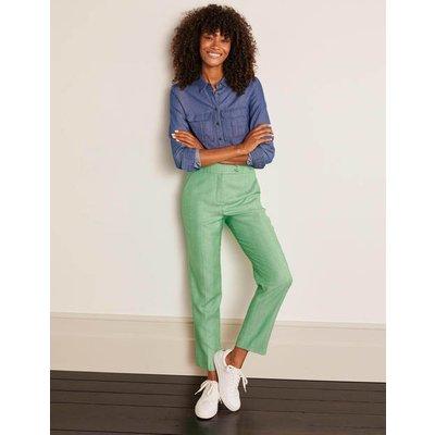 Kennford Tweed Trousers Green Women Boden, Green