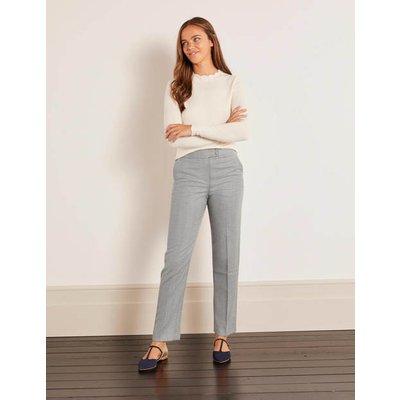 Kennford Tweed Trousers Grey Women Boden, Grey