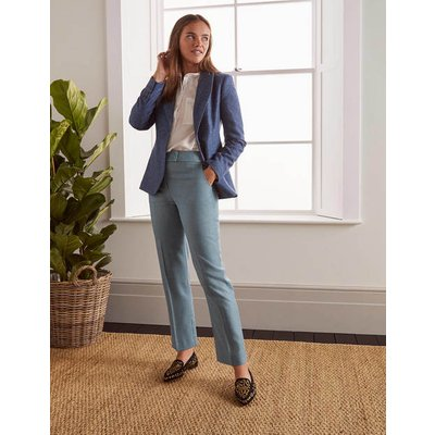 Kennford Tweed Trousers Blue Women Boden, Blue
