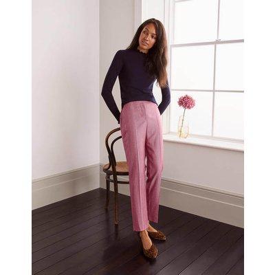 Kennford Tweed Trousers Pink Women Boden, Pink