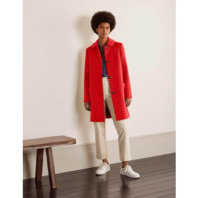 Clifford Coat Red Christmas Boden, Red