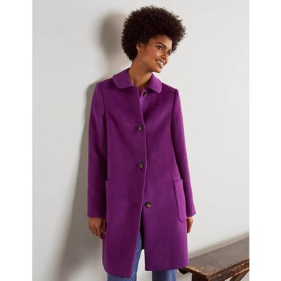 Clifford Coat Purple Boden, Purple