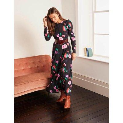 Clementine Midi Dress Black Women Boden, Black