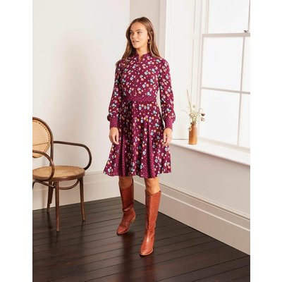 Christina Dress Purple Women Boden, Purple