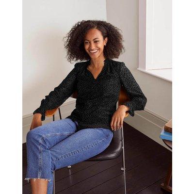 Evangeline Blouse Black Women Boden, Black