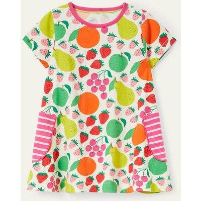 Short-sleeved Printed Tunic Multi Tutti Fruitti Boden, Multi Tutti Fruitti