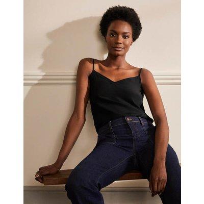 Silk Cami Black Women Boden, Black