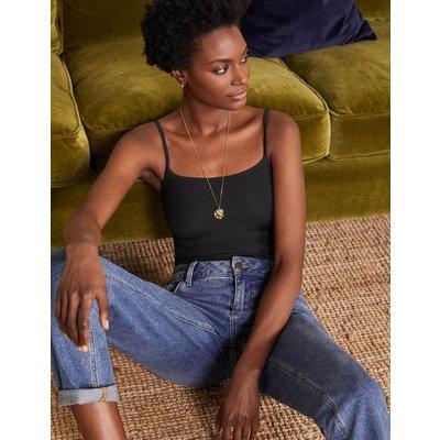 Plain Cami Black Women Boden, Black