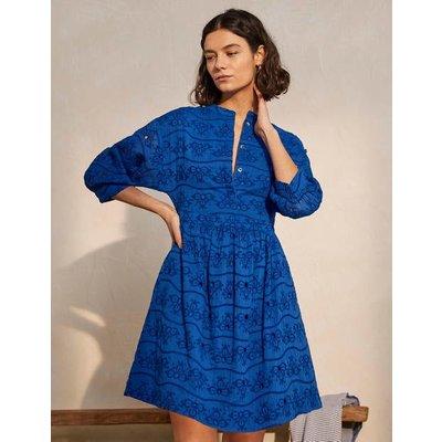Broderie Cotton Dress Summit Women Boden, Summit