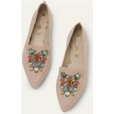 Isodora Flexi Sole Flats Natural Boden, Beige