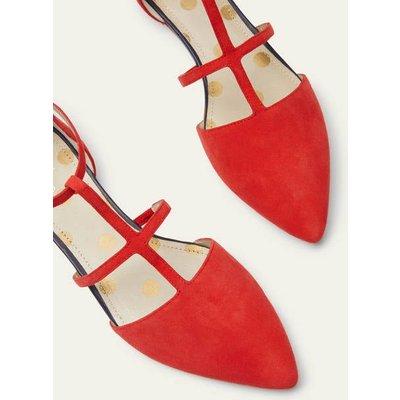 Mila Flats Cherry Red Women Boden, Cherry Red