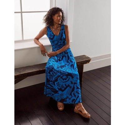 Sienna Jersey Maxi Dress Navy, Exotic Escape Women Boden, Navy, Exotic Escape