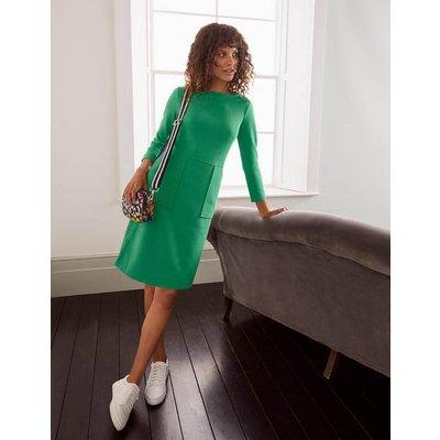 Auria Ottoman Dress Green Women Boden, Green
