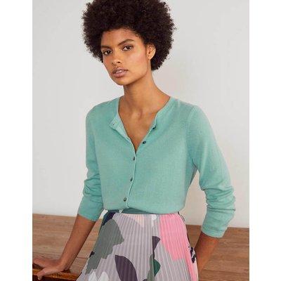 Cashmere Crop Cardigan Apple Mint Women Boden, Apple Mint