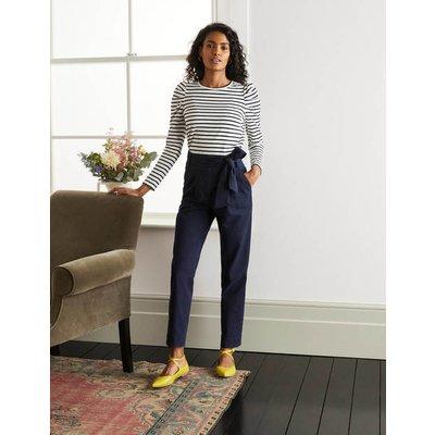 Bude Trousers Navy Women Boden, Navy