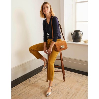 Albemarle Pull On Trousers Gold Women Boden, Gold
