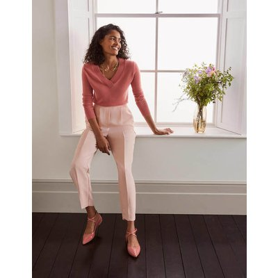 Albemarle Pull On Trousers Pink Women Boden, Pink