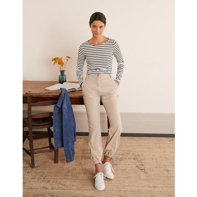 Gowrie Chino Trousers Natural Women Boden, Natural