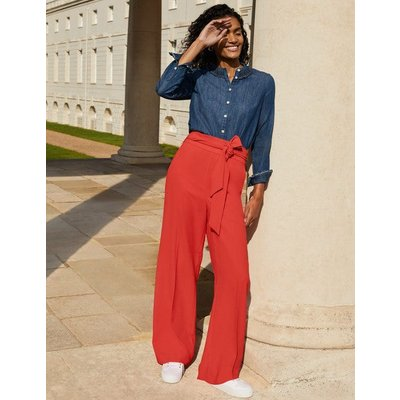 Allendale Trousers Cherry Red Women Boden, Cherry Red
