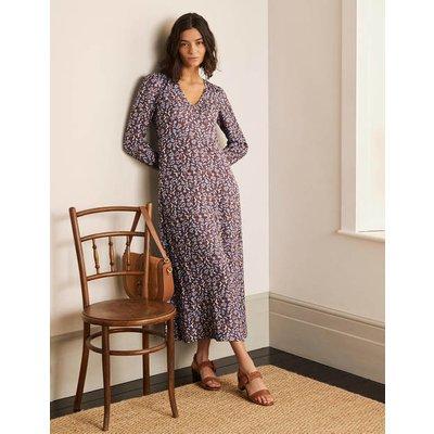 Tanya Midi Dress Asphalt, Floral Paisley Women Boden, Asphalt, Floral Paisley