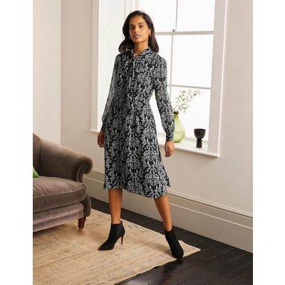 Sylvia Shirt Dress Black Women Boden, Black