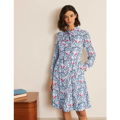 Sylvia Shirt Dress Blue Women Boden, Blue