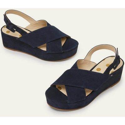 Olwen Sandals Navy Women Boden, Navy
