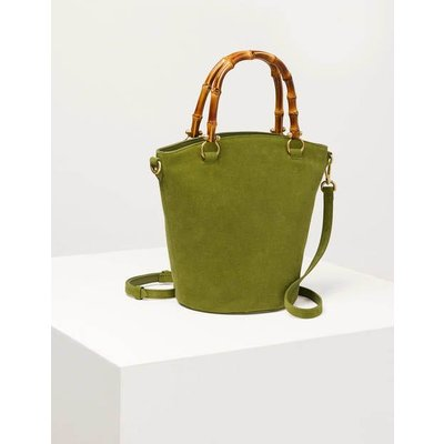 Daria Bucket Bag Pea Women Boden, Pea