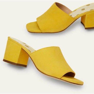 Elsie Heeled Mules Daffodil Women Boden, Daffodil