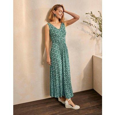 Sienna Jersey Maxi Dress Palm Leaf, Ornate Lattice Boden, Palm Leaf, Ornate Lattice