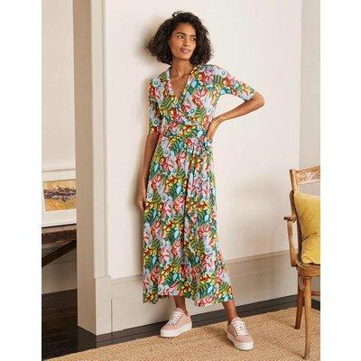 Lavinia Jersey Wrap Dress Red Oak, Safari Palm Women Boden, Red Oak, Safari Palm