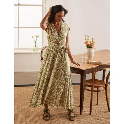 Eleanor Jersey Midi Dress Pea, Summer Paisley Women Boden, Pea, Summer Paisley