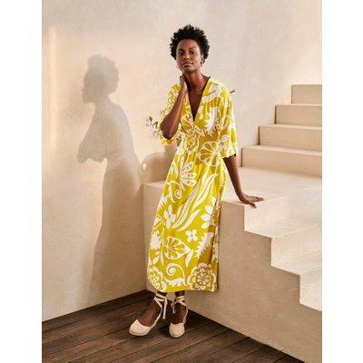 Poppy Jersey Maxi Dress Chartreuse, Garden Tropic Women Boden, Chartreuse, Garden Tropic