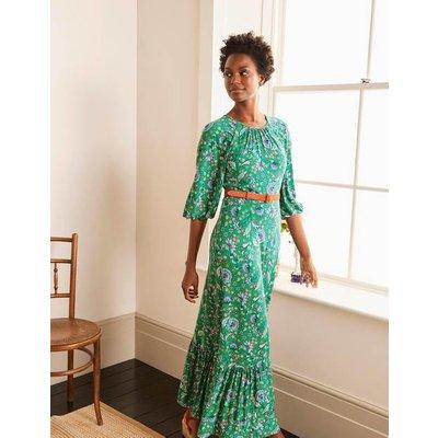 Tia Jersey Maxi Dress Sapling, Enchanted Garden Women Boden, Sapling, Enchanted Garden