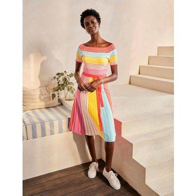 Aida Dress Multistripe Women Boden, Multistripe