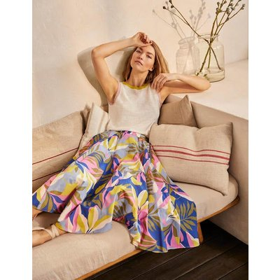 Corinne Full Skirt Plum Blossom, Tropical Flora Women Boden, Plum Blossom, Tropical Flora